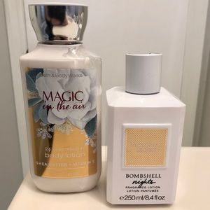 Victoria's Secret and Bath & Body Works Lotion